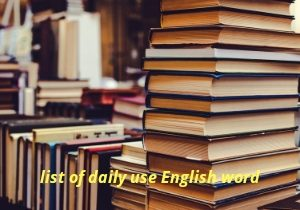 daily use word