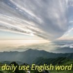daily use English words(set-22)