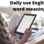 Daily Use Vocabulary Words With Hindi Meaning(set-25)