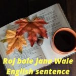 3000 Roj Bole Jane Wale English sentence-7