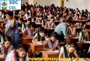 Important essay topics in Hindi for SSC