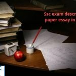 Important essay topics for SSC Descriptive paper exam